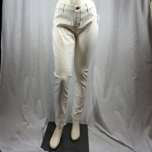 White Rich and Skinny Jeans